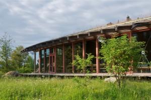 Wildniscamp Zentralgebäude